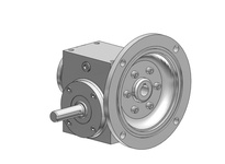 HubCity 0270-07223 SSW134 7.5/1 A WR 143TC SS Worm Gear Drive