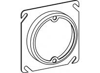 Orbit 43050 4S 1/2^ RAISED STEEL PLASTER RING