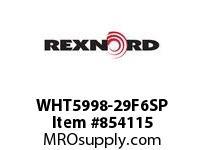 REXNORD WHT5998-29F6SP WHT5998-29 F3 T6P WHT5998 29 INCH WIDE MATTOP CHAIN W