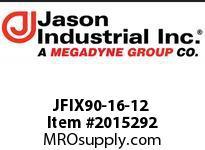Jason JFIX90-16-12 JIC 37* 90* ELBOW FEM SW