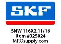 SNW 116X2.11/16