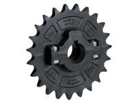 614-27-21 NS63-23T Thermoplastic Split Sprocket With Keyway And Setscrew TEETH: 23 BORE: 1-1/8 Inch Round