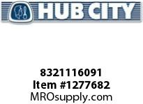 HubCity 8321116091 BEARING BALL 309 OR EQ KOYO 6309