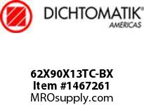 Dichtomatik 62X90X13TC-BX DISCONTINUED