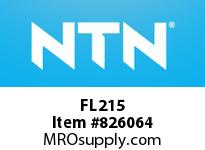 NTN FL215 Bearing Units - Cast Housing