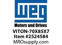 WEG VITON-70X85X7 VITON SEAL FOR 360/400 FR. NDE Motores