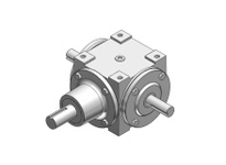 HUBCITY 0220-03607 66 2/1 DE SP BEVEL GEAR DRIVE