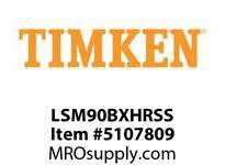 TIMKEN LSM90BXHRSS Split CRB Housed Unit Assembly
