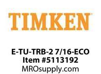 TIMKEN E-TU-TRB-2 7/16-ECO TRB Pillow Block Assembly