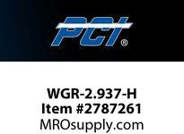PCI WGR-2.937-H WIRE GUIDE ROLLER STUD STYLE BEARING WIRE GUIDE .138 GROOVE WIDTH