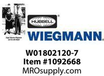 WIEGMANN W01802120-7 FANFILTER7^120V40CFM