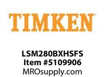 TIMKEN LSM280BXHSFS Split CRB Housed Unit Assembly