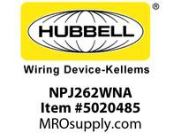 HBL_WDK NPJ262WNA WLPLT M-SIZE 2-G 2) RECT WHITE
