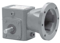 QC738-15F-B9-J CENTER DISTANCE: 3.8 INCH RATIO: 15:1 INPUT FLANGE: 180TCOUTPUT SHAFT: RIGHT SIDE