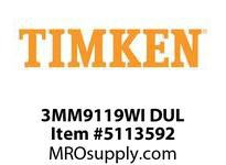 TIMKEN 3MM9119WI DUL Ball P4S Super Precision