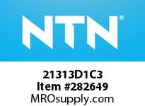 NTN 21313D1C3 SPHERICAL ROLLER BRG