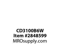 CPR-WDK CD3100B6W Inlet Pin&Sleeve 100A 250V 2P3W WT BL