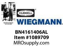 WIEGMANN BN4161406AL N4JICALUMCLAMPCVR 16X14X6