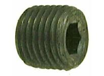 MRO 67763 3/8 BLACK C/S HEX STEEL PLUG (Package of 20)