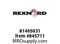 REXNORD 81405031 WD880TK3.25 PLAS PIN WD880 TAB 3.25 INCH WIDE TABLETOP C