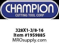 Champion 328X1-3/8-16 HS ROUND SCREW ADJ DIES
