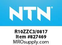 NTN R10ZZC3/0817 SMALL SIZE BALL BRG(STANDARD)