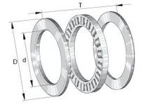 INA 81124TN Thrust roller bearing