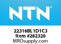 NTN 22316BL1D1C3 SPHERICAL ROLLER BRG