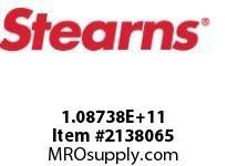 STEARNS 108738100012 BRK-VERT ABOVE115V HTR 133791