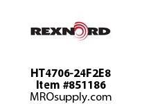 REXNORD HT4706-24F2E8 HT4706-24 F2 T8P HT4706 24 INCH WIDE MATTOP CHAIN WI