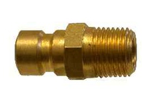 MRO 29906 1/4 MALE PLUG-BRASS 3/8 MOLD