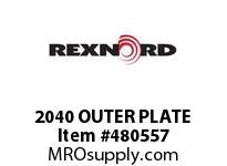 2040 OUTER PLATE