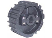 System Plast 12068N 815-25R40M-DS TWO PIECE MOLDED SPROCKETS