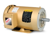 CEM3613T-5 5HP, 3450RPM, 3PH, 60HZ, 184TC, 3630M, TEFC, F1