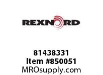 REXNORD 81438331 PS8506-12 PS8506 12 INCH WIDE MATTOP CHAIN WI