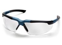 Pyramex SNC4810D Blue-Charcoal Frame/Clear Lens