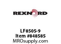 REXNORD LF8505-9 LF8505-9 LF8505 9 INCH WIDE MATTOP CHAIN WIT