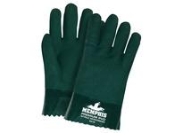 MCR 6410SC Oil Hauler Green/Orange PVC Non-Slip Finish Jersey Lined Safety Cuff