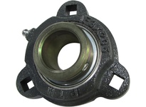 PTI F3X207X1-1/4S DUCTILE 3-BOLT FLANGE BEARING-1-1/4 F3X 200 GOLD SERIES - NORMAL DUTY -