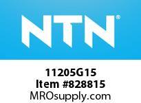 NTN 11205G15 Self-Aligning Ball Bearing