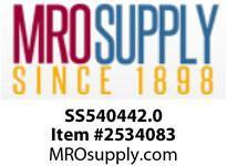 MRO SS540442.0 1/4X2^ LONG STN STL HEX NIPPLE