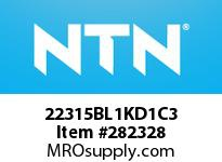 NTN 22315BL1KD1C3 SPHERICAL ROLLER BRG