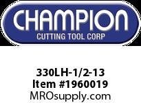 Champion 330LH-1/2-13 CARBON LEFT HAND HEX DIE