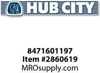 HUB CITY 8471601197 SHIM STEEL 1.015X1.37X.005 Service Part