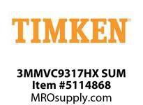 TIMKEN 3MMVC9317HX SUM Ball High Speed Super Precision