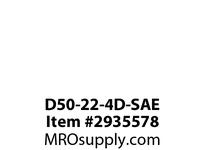 TBWOODS D50-22-4D-SAE ADAPTER PLATE 22.500 SAE