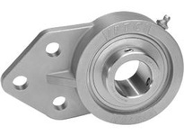 IPTCI Bearing SUCSFB205-16 BORE DIAMETER: 1 INCH HOUSING: 3 BOLT FLANGE BRACKET HOUSING MATERIAL: STAINLESS STEEL