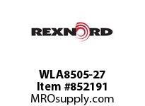 REXNORD WLA8505-27 WLA8505-27 WLA8505 27 INCH WIDE MATTOP CHAIN W