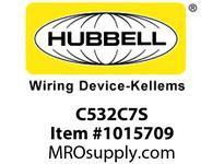 HBL-WDK C532C7S PS C-IEC CONN 4P5W 32A S/P