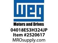 WEG 04018ES3H324JP 40HP 1800 3 60 575V Close C-TEFC